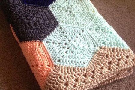 Loom Knit Baby Blanket On Long Loom Full Hd Pictures 4k Ultra
