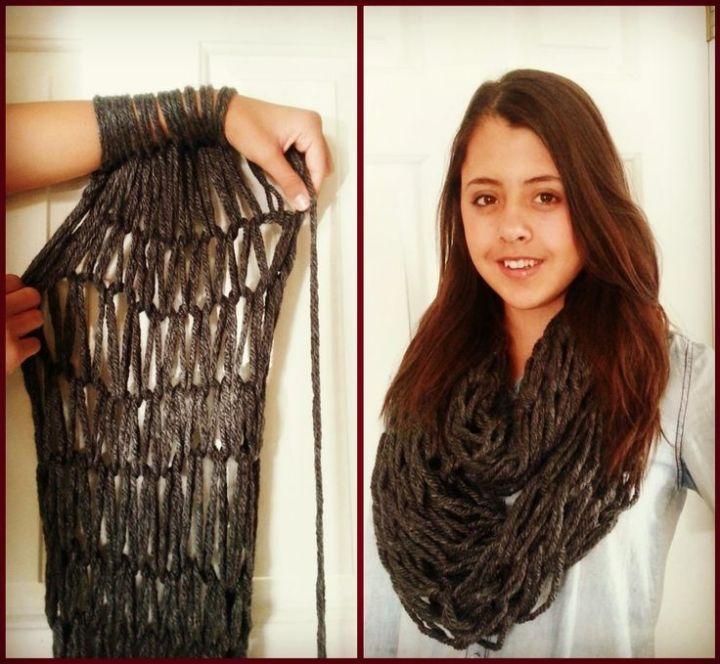 Chunky Knit Scarf Diy Diydrysite