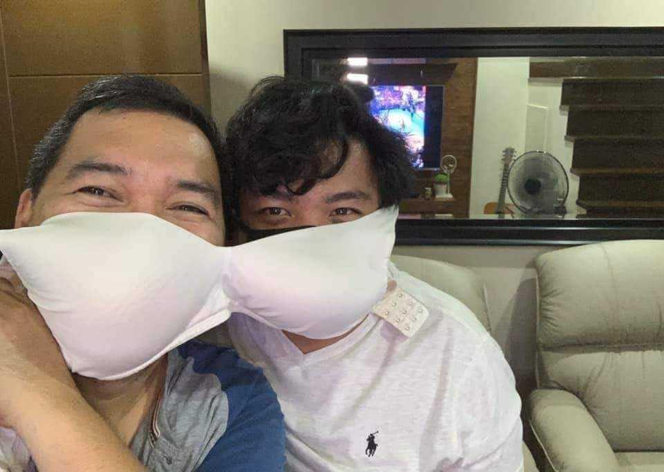 creative diy face masks - sharing bra mask