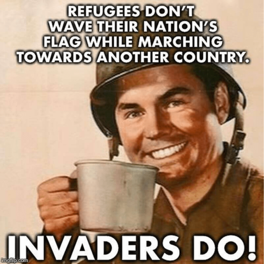 Refugees Dont Carry Flags