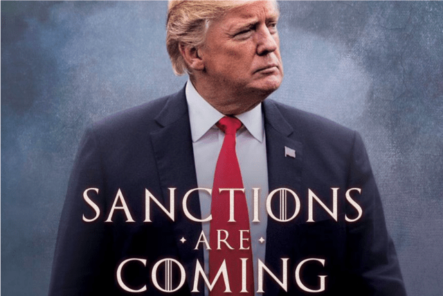 Sanctions Are Coming