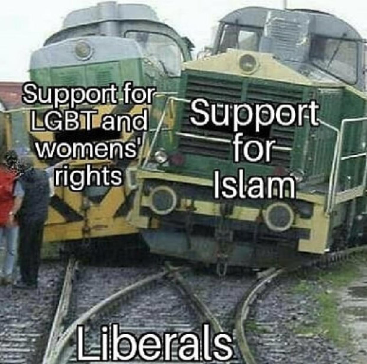 Liberals-LGBT-Sharia-Islam-Trains-crashi