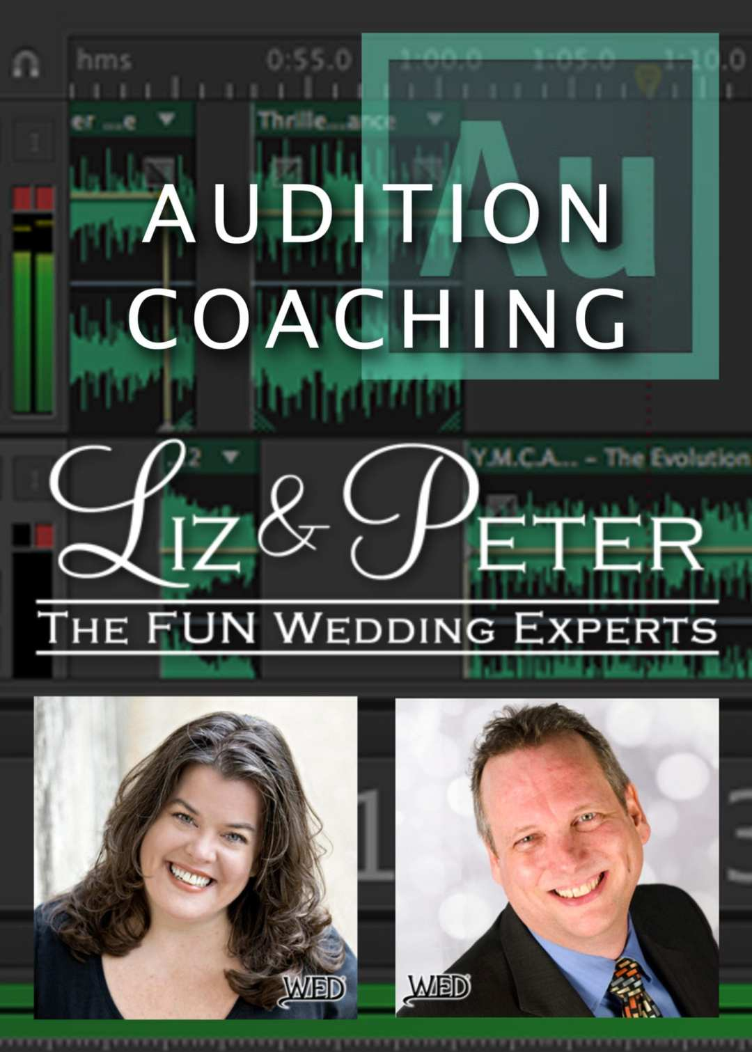 Liz Daley & Peter Merry's Hands-On Adobe Audtion Coaching Services