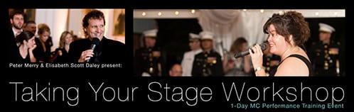 Taking Your Stage Workshop | 1-Day MC Performance Training Event