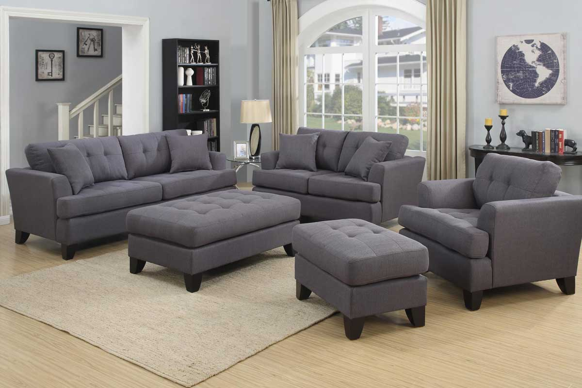 Norwich Gray Sofa Set   The Furniture Shack   Discount Furniture     Discount Couch and Sofa Sets by The Furniture Shack   Serving Portland OR  Gresham OR and