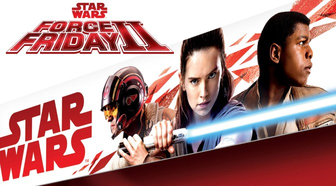 The Merchandise Artwork of Star Wars: The Last Jedi Is Revealed…