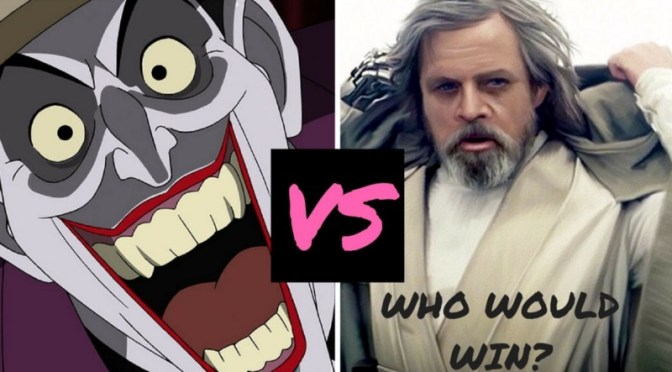 Jedi v Joker: Who Will Have the Last Laugh?