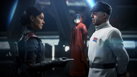 Commander Iden Versio and father Admiral Garrick Versio