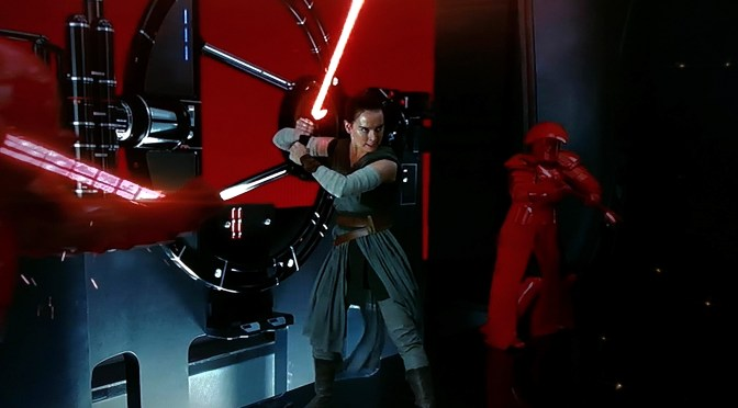 Rey Wields Kylo Ren's Lightsaber in the latest TV Spot for Star Wars: The Last Jedi