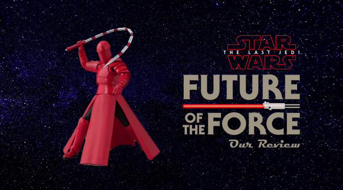 S.H. Figuarts Review | Praetorian Guard (Whip Staff) Star Wars: The Last Jedi