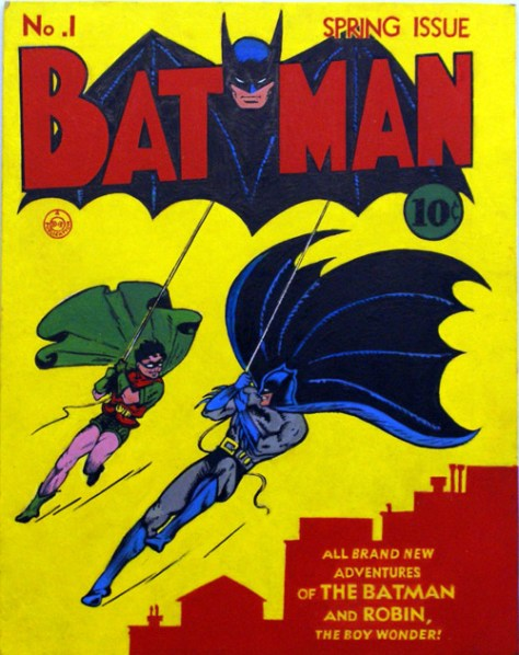 Comic Books & WWII - Batman Comics - FOTF