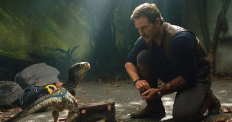 Jurassic World Fallen Kingdom - Owen and Blue - FOTF