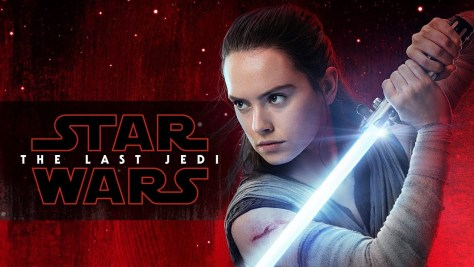 Star Wars The Last Jedi Blu-Ray Release Cover Image