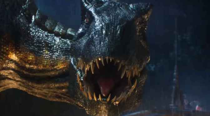 New Jurassic World: Fallen Kingdom Trailer