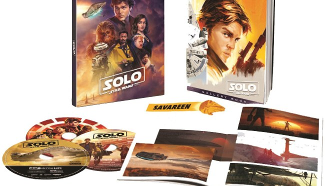 Solo: A Star Wars Story | Target Exclusive Blu-Ray Artwork Revealed.