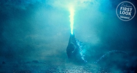Godzilla Unleashes his Atomic Fire Breath in First Godzilla: King of the Monsters images