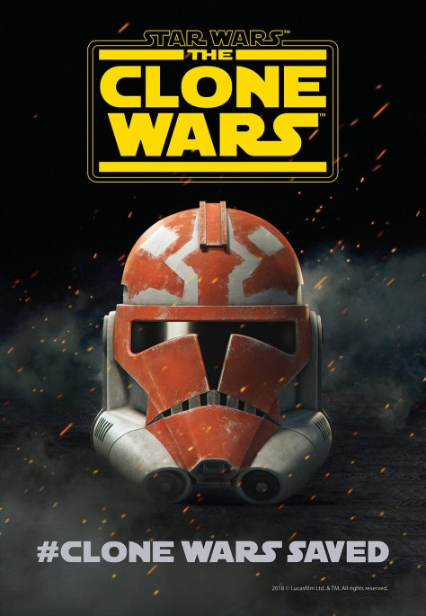 The Campaign Is Over. Star Wars: The Clone Wars is Returning…