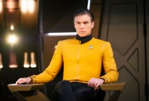 Ep #201 - Pictured: Anson Mount as Captain Pike of the CBS All Access series STAR TREK: DISCOVERY. Photo Cr: Jan Thijs/CBS © 2018 CBS Interactive. All Rights Reserved.