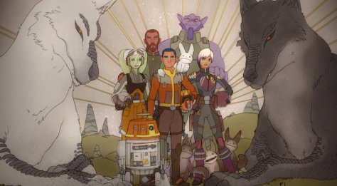 FIRST LOOK | Star Wars: Resistance Artwork Unveiled