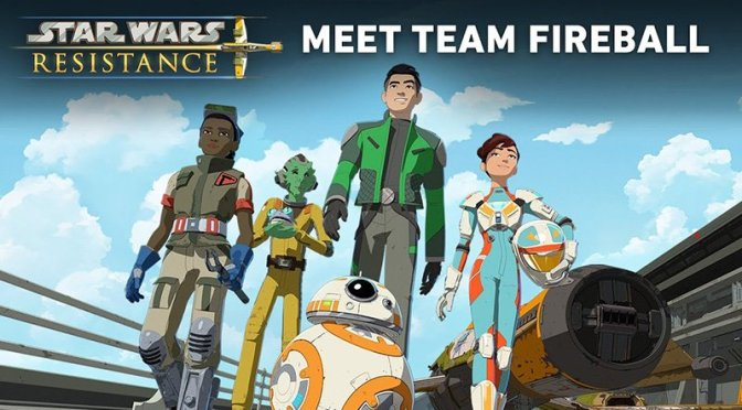 Star Wars: Resistance Featurette | Meet Team Fireball
