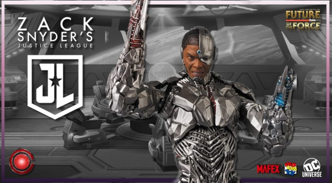 Mafex Review | Cyborg (Zack Snyder's Justice League)