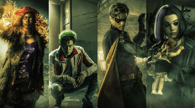 DC Universe | Titans to Premiere on Netflix Outside of the United States