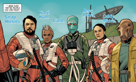Comic Review | Star Wars: Poe Dameron Black Squadron Vol. 1 (A Second Opinion)
