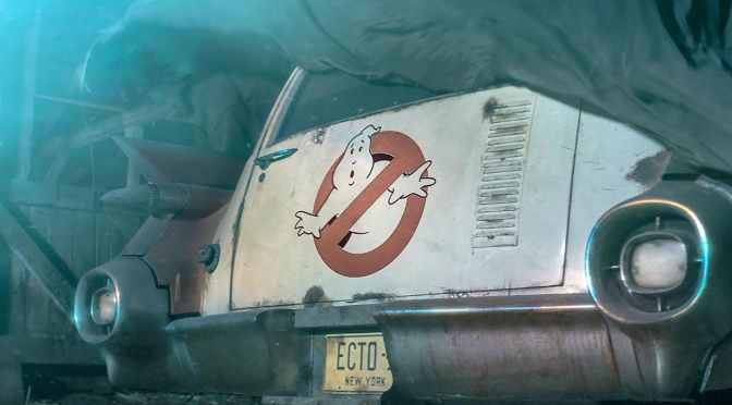 New Ghostbusters Set Pics Reveal Ecto-1 and the Stay Puft Marshmallow Man