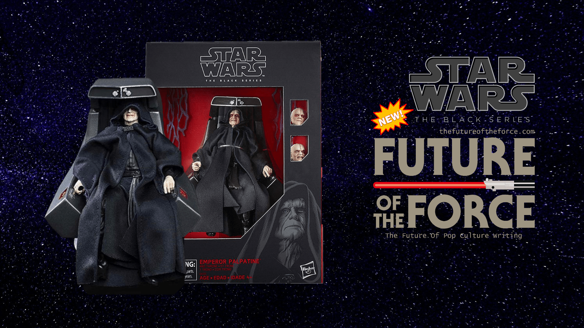 First Look Star Wars The Black Series Deluxe Emperor Palpatine Revealed Future Of The Force
