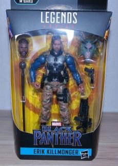 Marvel Legends Review | Erik Killmonger (Black Panther