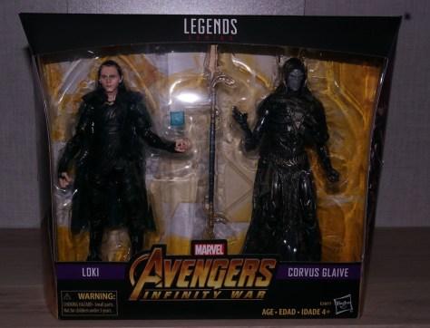 Marvel Legends Review | Loki & Corvus Glaive 2-Pack (Avengers: Infinity War) (Exclusive)