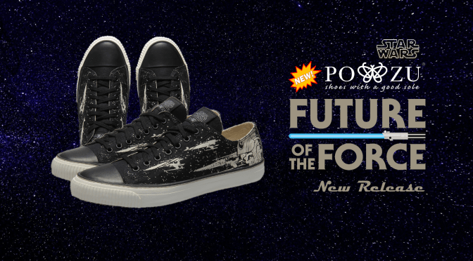 Po-Zu | Shoot for the Stars with the New Star Wars: X-Wing Pilot Sneakers