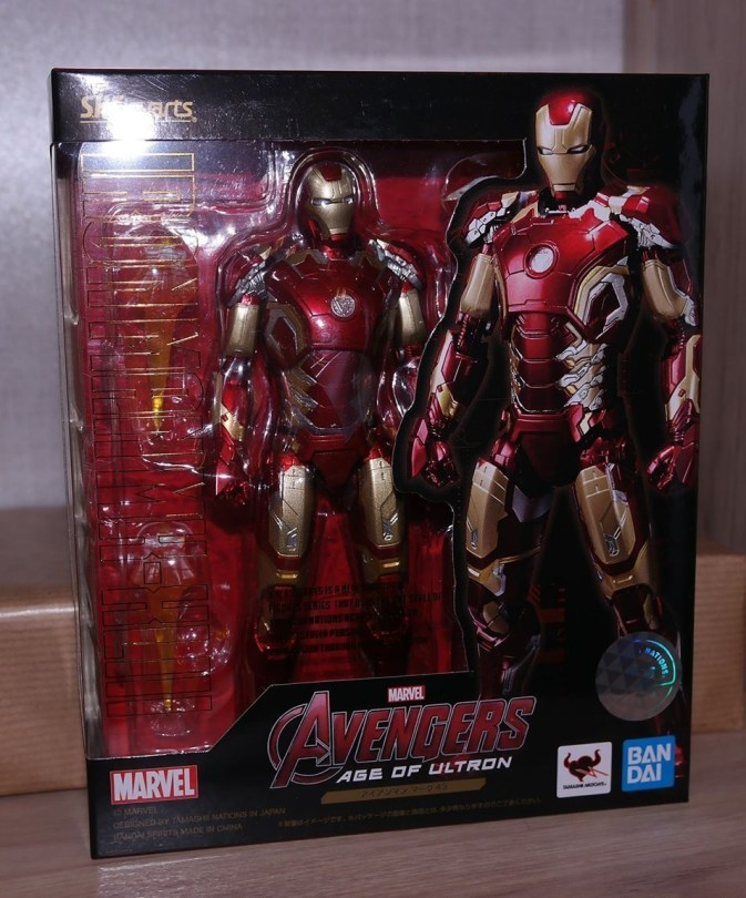S.H. Figuarts Review   Iron Man MK-XLIII (Avengers: Age of Ultron) Reissue