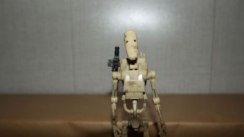 Star Wars The Black Series Battle Droid Review 1