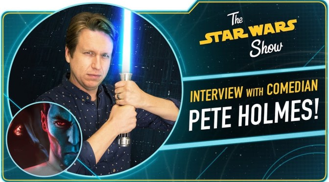 The Star Wars Show | Exclusive Preview of Thrawn: Treason, and Pete Holmes Talks The Hero's Journey