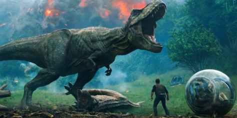 Jurassic-World-2-Trailer-T-Rex-Volcano-BFI-IMAX-South-Bank-London_0