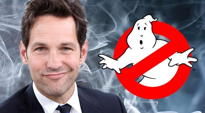 Paul Rudd Joins Jason Reitman's Ghostbusters Sequel
