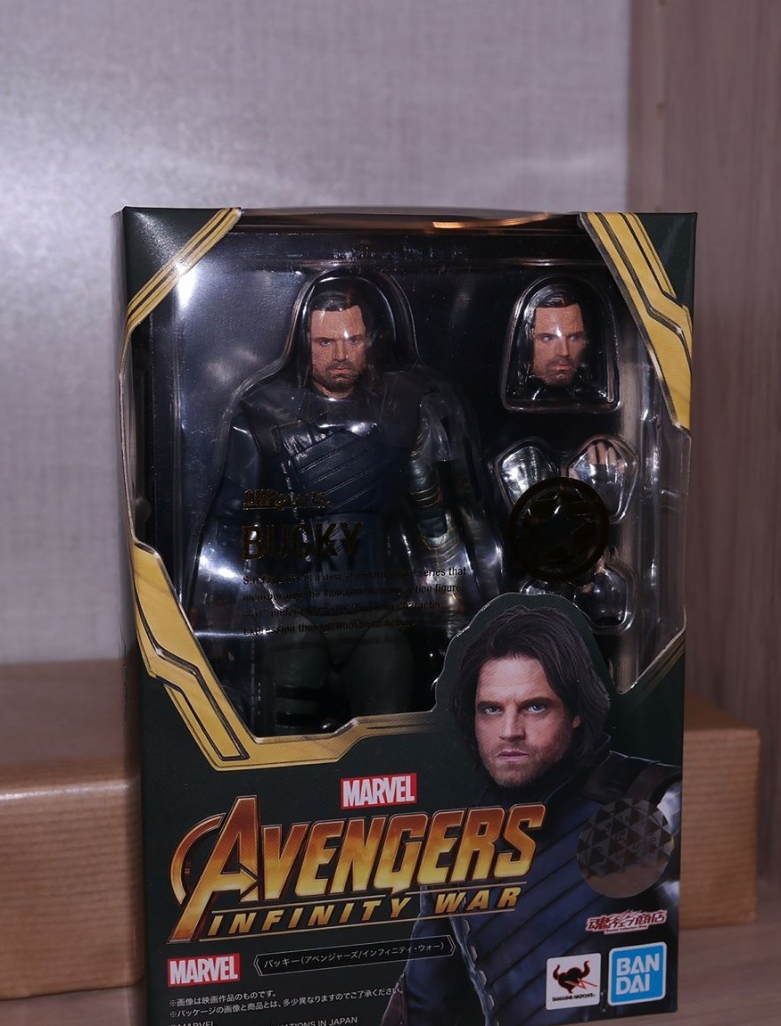 Figuarts Action Figure Avengers Infinity War S.H Bucky