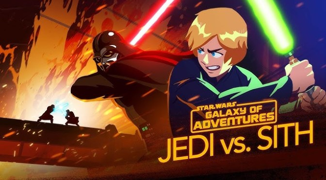 Star Wars: Galaxy of Adventures | Jedi vs. Sith – The Skywalker Saga
