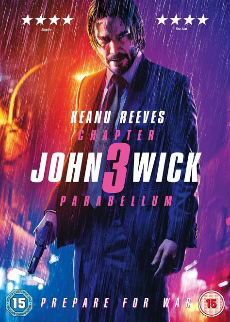 John Wick: Chapter 3 – Parabellum Blu-Ray Release Date Announced