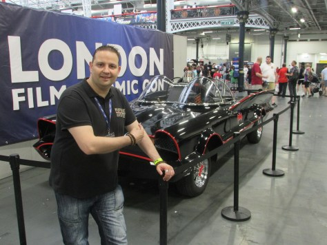 The Classic Batmobile Revealed | London Film & Comic Con
