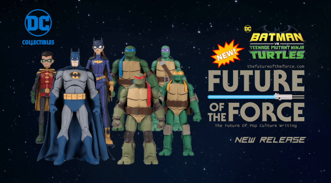 Batman Vs TMNT Action Figures Announced by DC Collectibles