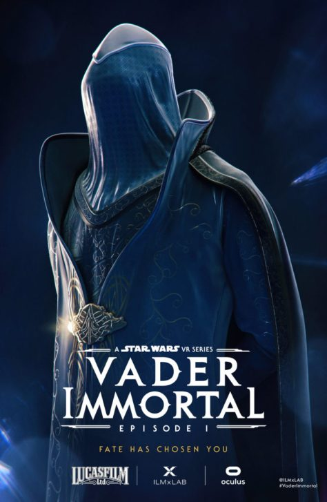Star Wars | ILMxLAB Debuts New Vader Immortal Character Posters for SDCC 2019