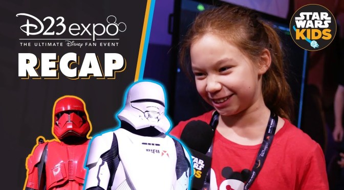 Star Wars at D23 Expo 2019! | Star Wars Kids