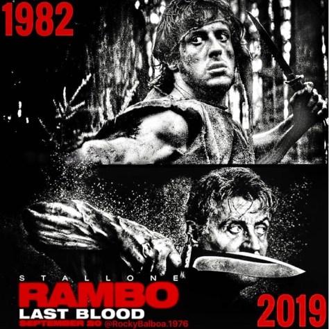 Rambo: Last Blood Homage Poster