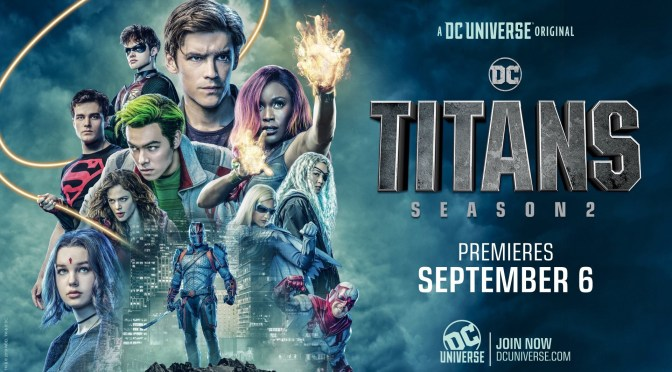 Titans Season 2 Gets a Suitably Cool New Poster