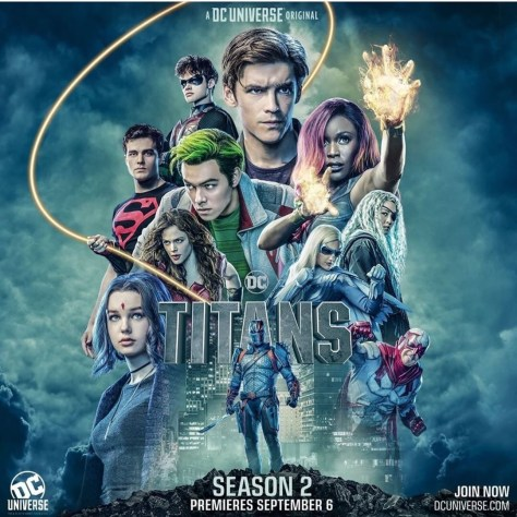 Titans | Deathstroke Menaces in the Awesome Trailer for Titans Season 2