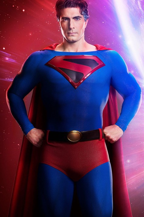First Look | Brandon Routh Suits Up as Superman in Crisis on Infinite Earths