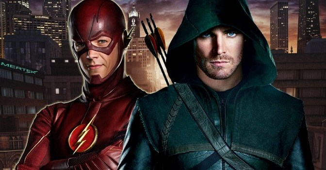 "Going into CW's ""Flash"" and ""Arrow"" Completely Blind"