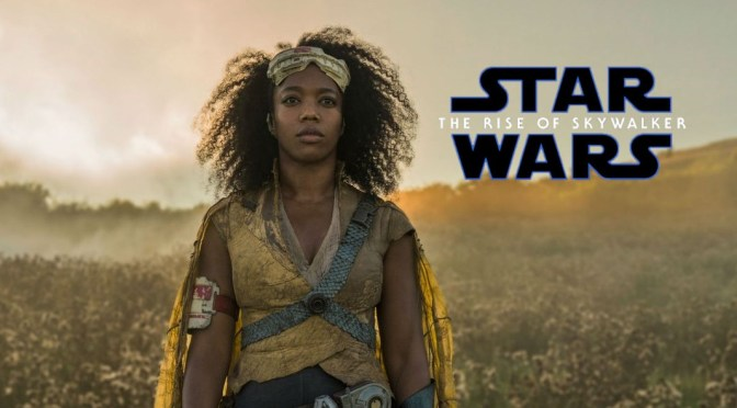 Star Wars | Naomi Ackie Discusses Her Role in The Rise of Skywalker
